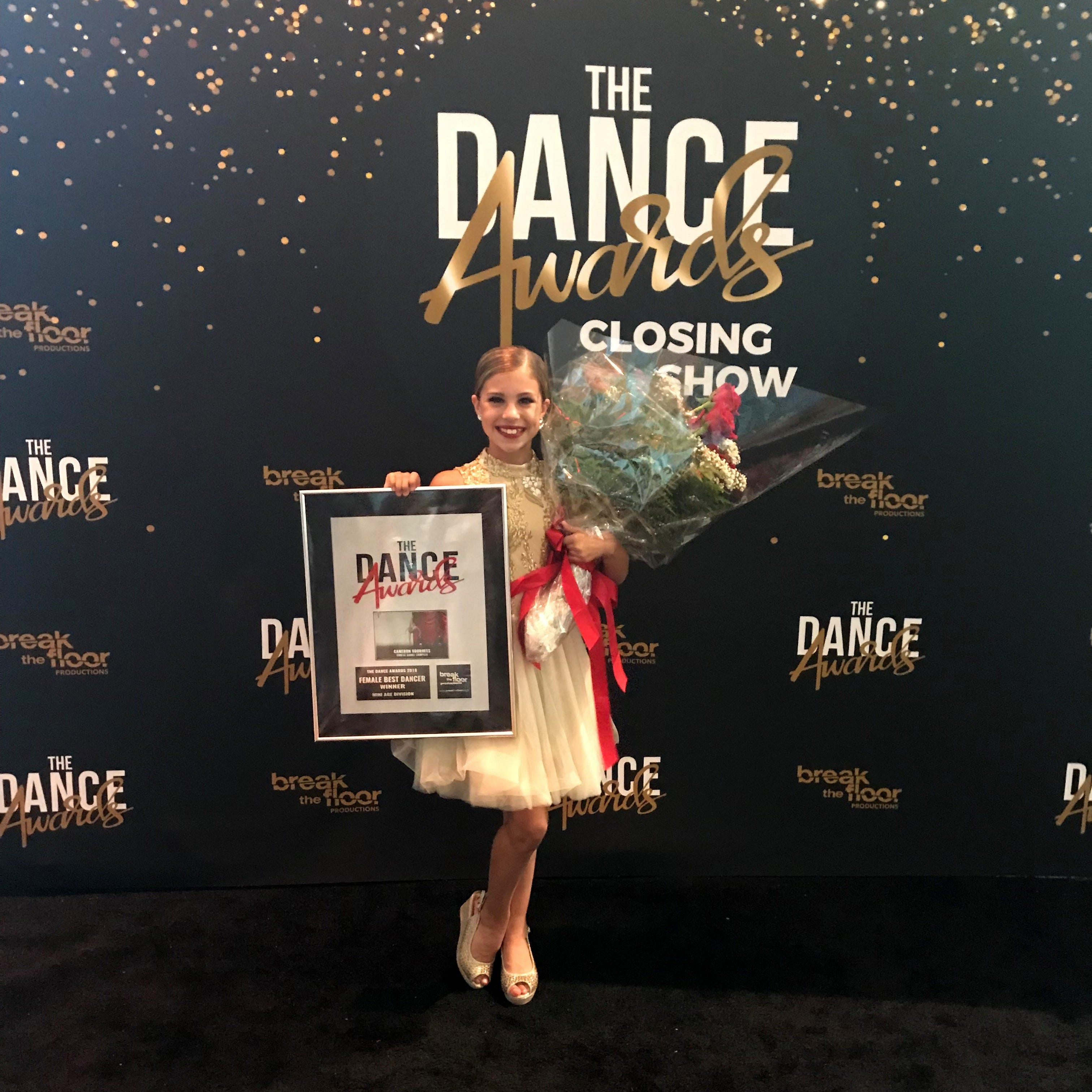 Dancing on air: Elmira's Cameron Voorhees captures title at The Dance Awards