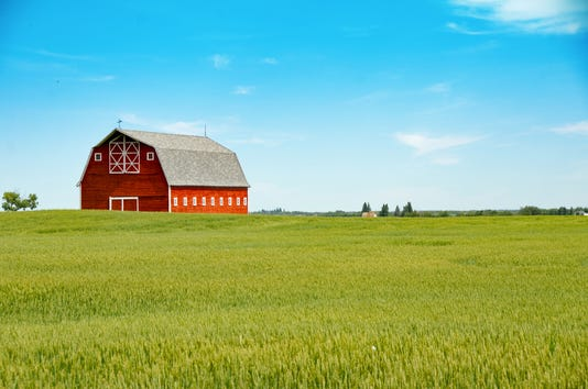 Stunning Red Barn