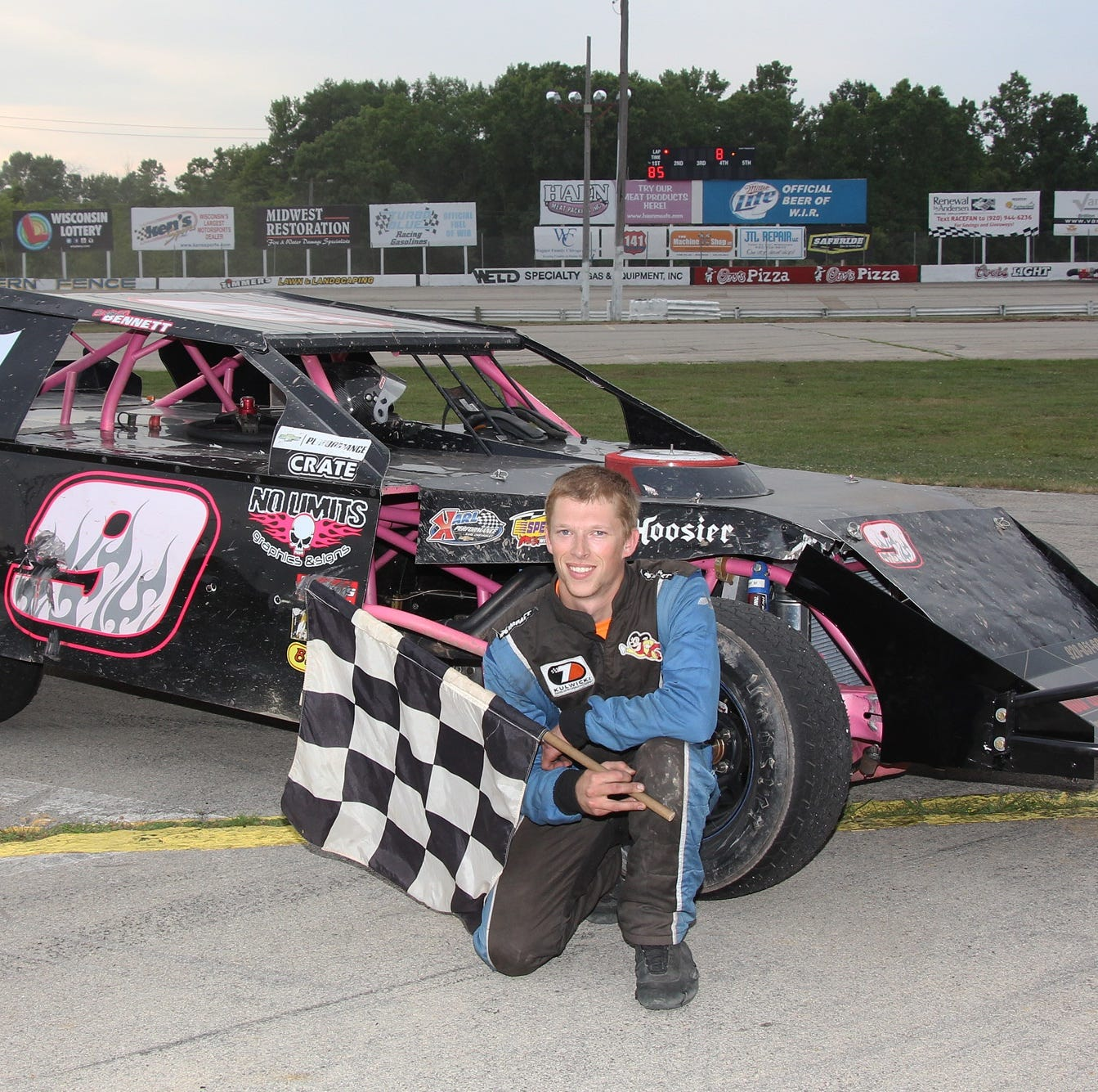 It's always time for racin' for Braison Bennett