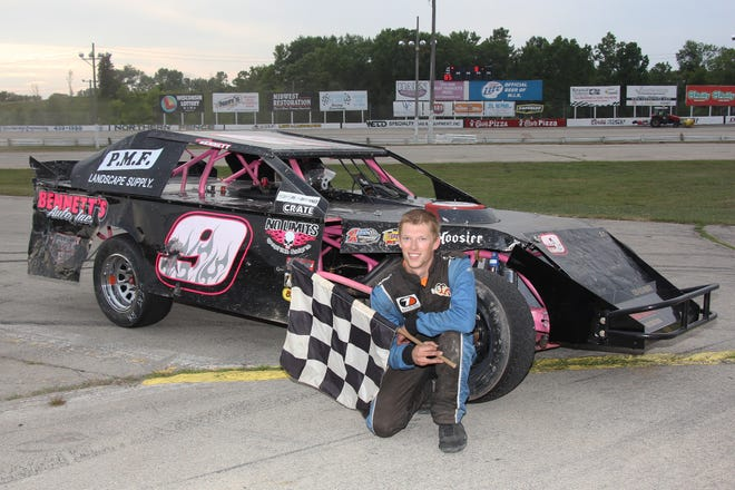 Third-generation racer Braison Bennett of Neenah has enjoyed racing on both dirt and asphalt tracks this year in his sportmod and late model cars, respectively.