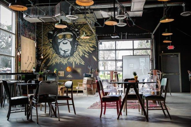 The Infinite Monkey Theorem taproom in Denver.