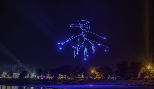 Kew 0818 Shanty Days Drone Light Show
