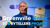 Richard Workman speaks about his greatest moment in sports during the Greenville News Storytellers project on Tuesday, Aug. 14, 2018.