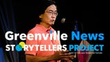 Stan Lew speaks about his greatest moment in sports during the Greenville News Storytellers project on Tuesday, Aug. 14, 2018.