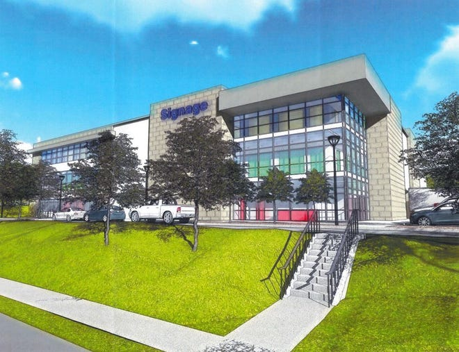 Developer Ron Rallis has proposed a self-contained storage complex on Wade Hampton Boulevard.