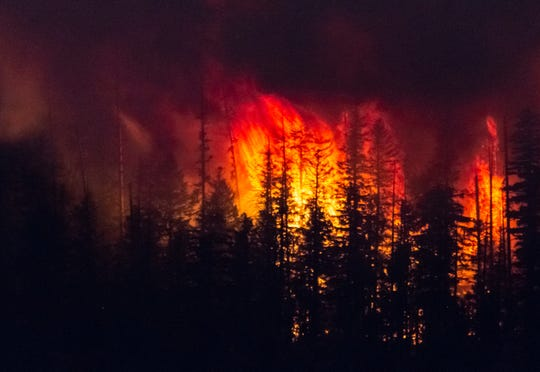 The National Park Service has released an emergency response video documenting the first moments of a Montana fire in Glacier National Park last summer.