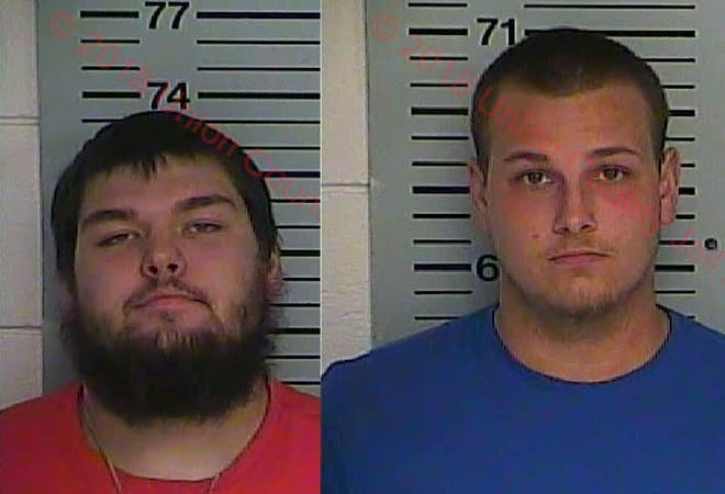 Inmates Justin Sneed (left) and Troy Sloan (right)