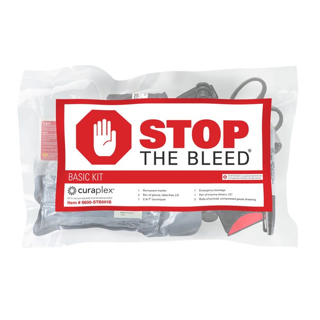"A ""Stop the Bleed"" kit like the ones that will soon be located in Henderson classrooms."