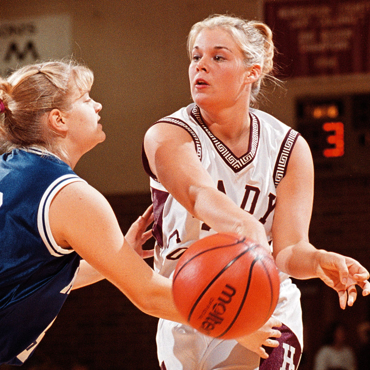 Hall of Famer Lyndsay Howard was a two-sport star who reached new heights in college