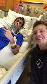 The love of Ryan Topper's for his high school friend, Brock Meister, not only helped save Brock's life, but — in an unusual twist — it may have saved the life of Brock's brother, too.