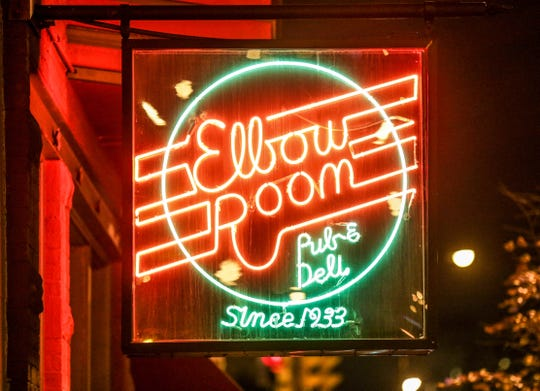 The Elbow Room, 605 N Pennsylvania St, was a historic Downtown bar with Prohibition-era roots closed in 2017.