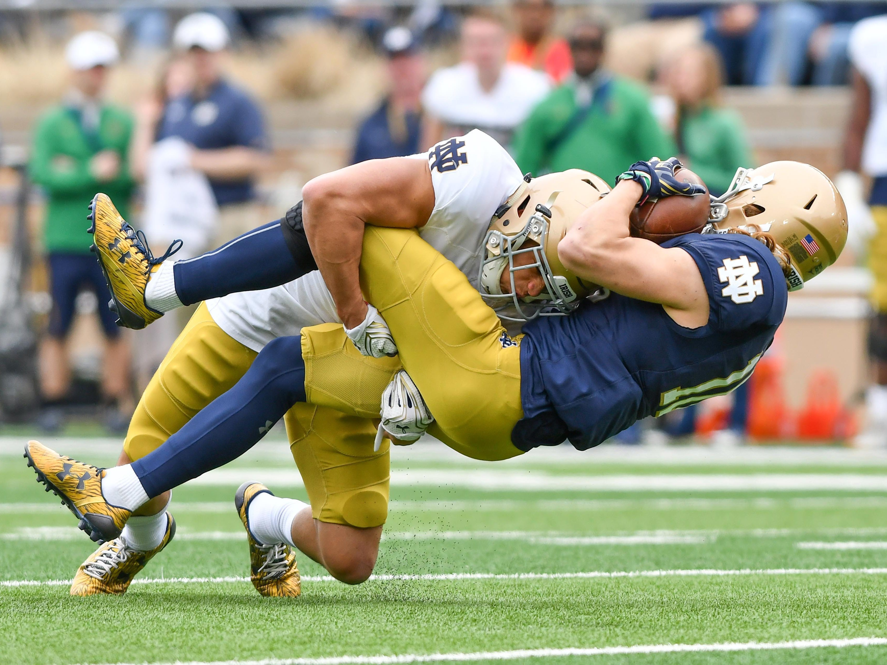 Is there reason to be optimistic about Notre Dame's safety position?