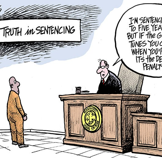Marshall Ramsey: Truth in Sentencing