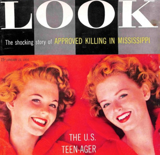 Look magazine ran story on Emmett Till case