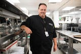 Chef Chris Moore speaks about Regal's new Cinebarre location Thursday, Aug. 9, 2018.