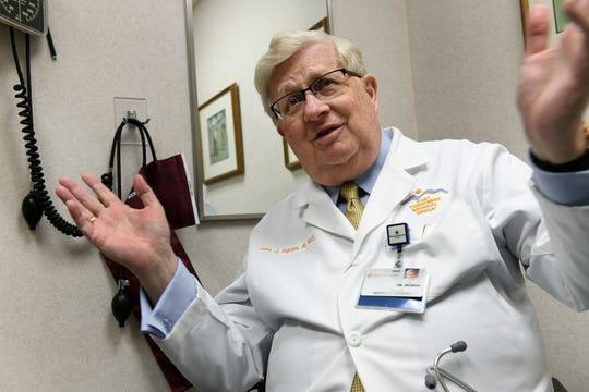 Dr. John Ingram, 2018 Health Care Heroes recipient, Thursday, August 9, 2018.