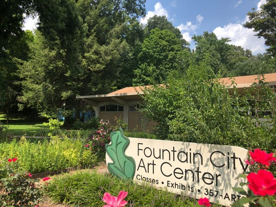 Fountain City Art Center offers classes and regular exhibits for local artists.