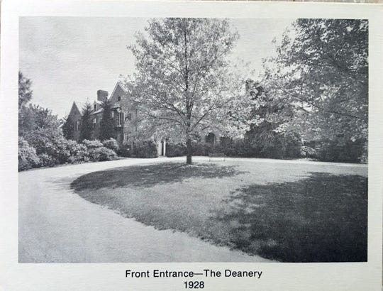 The front entrance of The Deanery.
