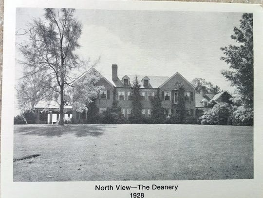 A view of the Deane Home.