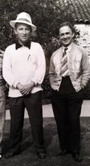 Bing Crosby and Jack Comer, mid to late 1940s.