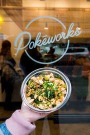 Build-your-own Pokéworks poke bowl