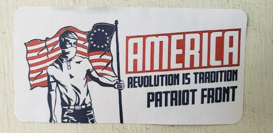 white nationalist sticker 1