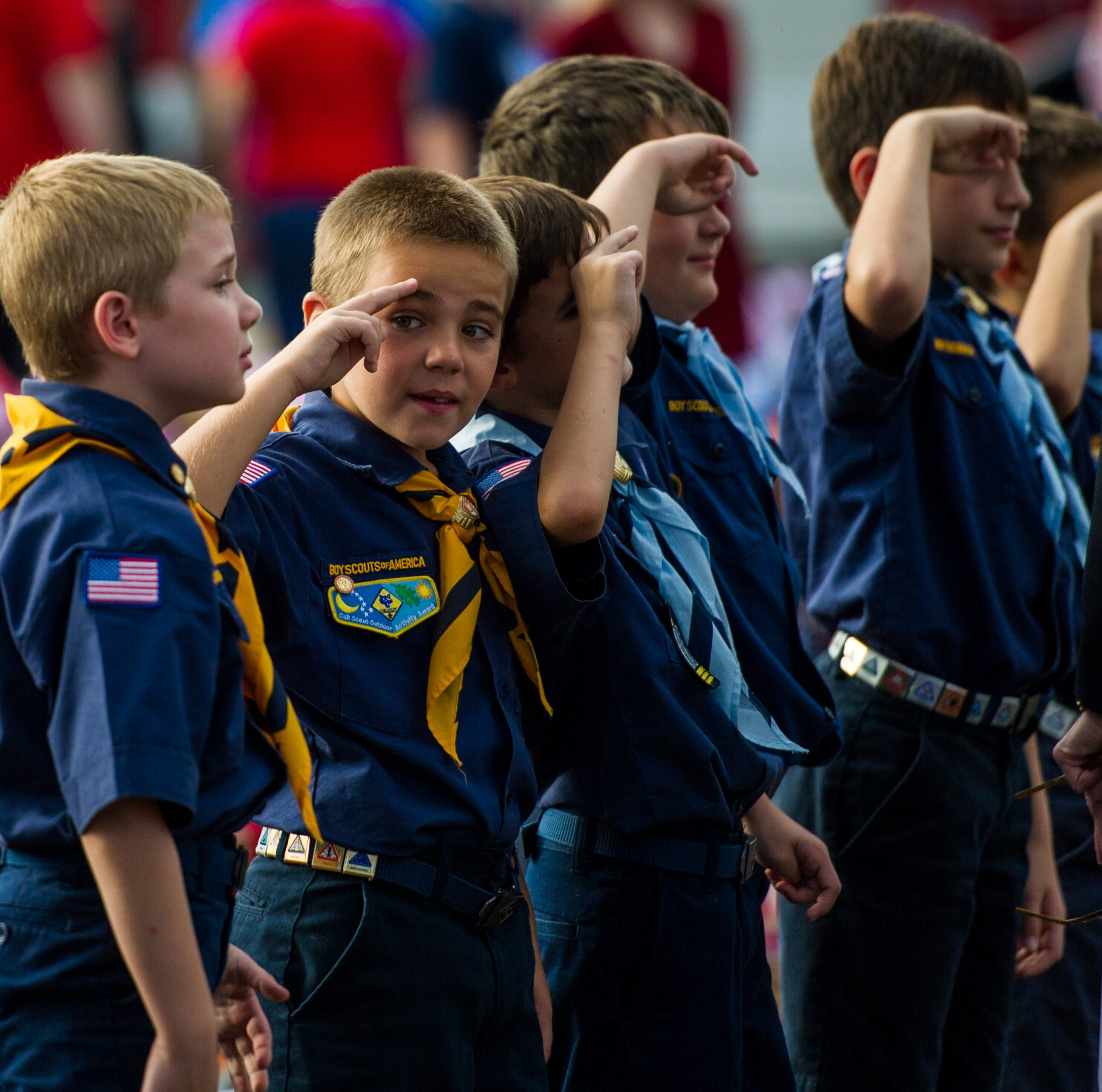 Girls will be girls.. and now Boy Scouts