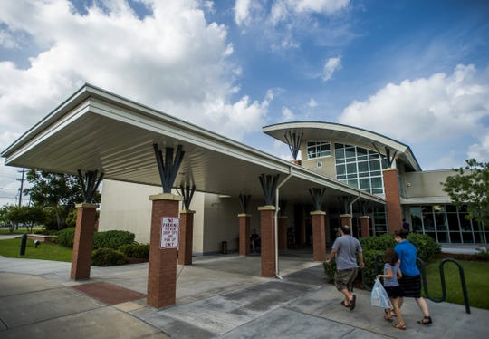 The South Regional Library at 6101 Johnston Street in Lafayette is shown in this file photo.