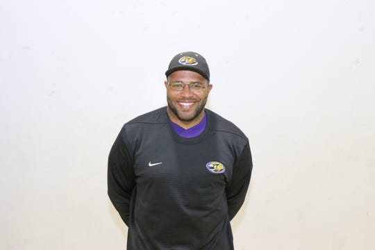 Westgate head coach Ryan Antoine