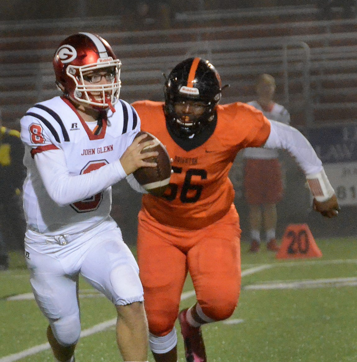 Livingston County's top football players: No. 6, Brighton lineman Colby Ford