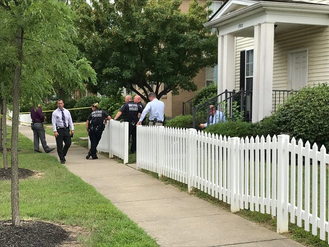 A child was shot in the 1700 block of South 32nd Street on Wednesday.