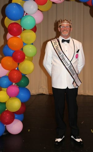 Travis Clifton is the 2018 Mr. Marion Popcorn Festival.