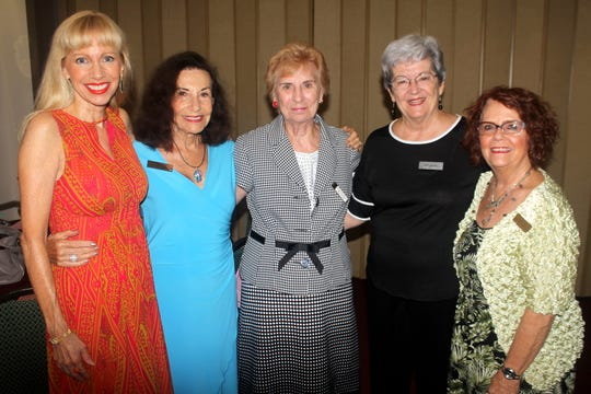 Virginia Vacio,  Jean King,  Betty Richardson,  Barb Markel, and Lynn Hall  are long time friends.