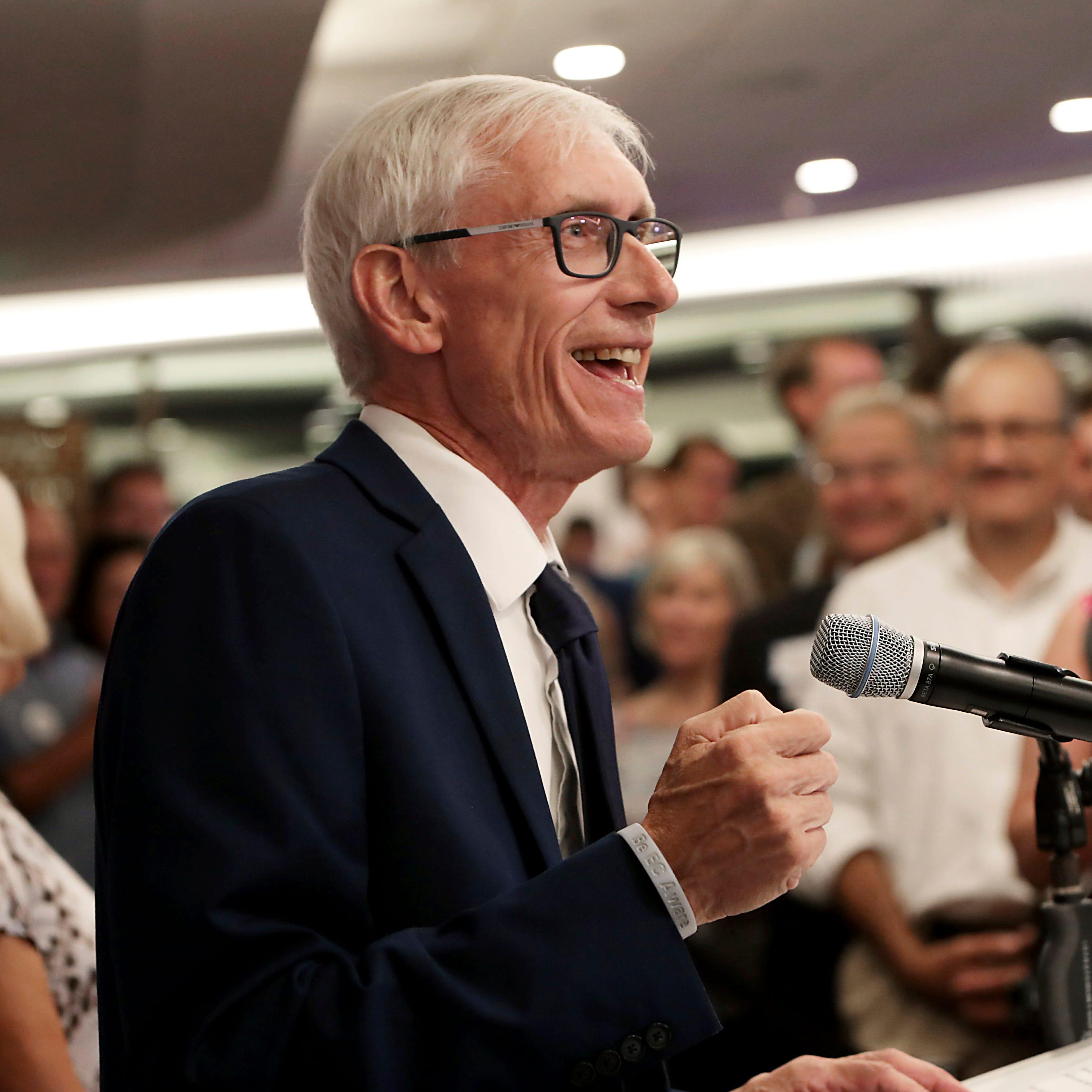 Democrat Tony Evers wins eight-way Wisconsin primary to face GOP Gov. Scott Walker in November