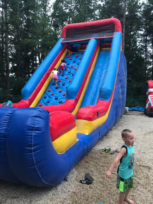 Inflatables At Jellystone