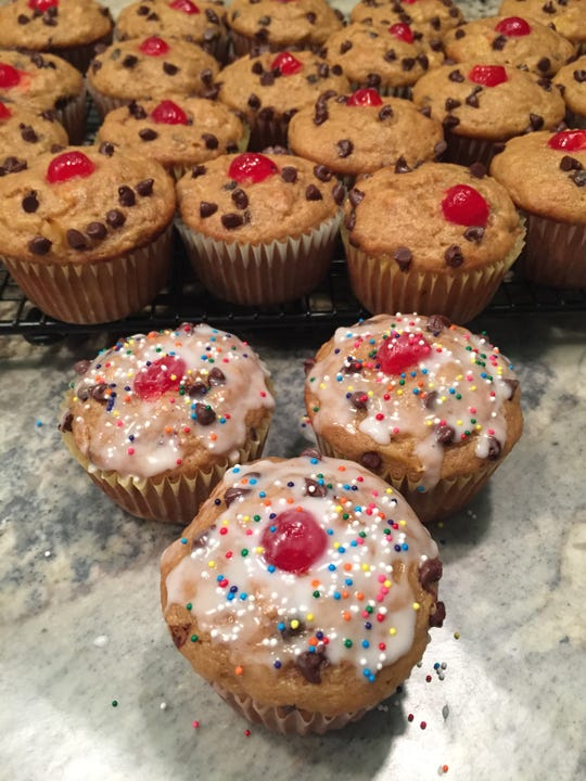Banana Split Muffins bring together all the flavors of the classic dessert.