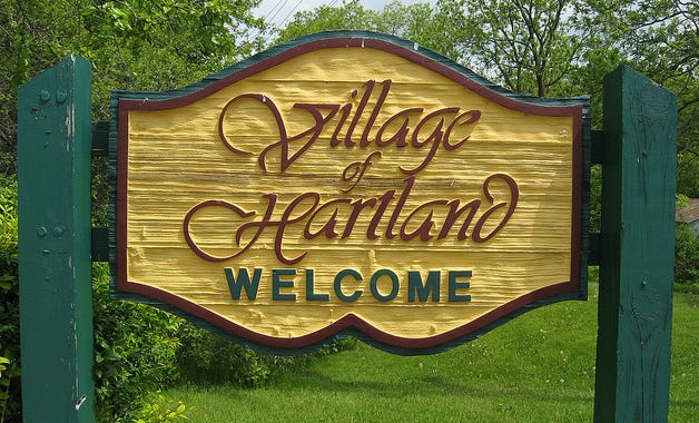 A mixed-use development is being proposed on 53 acres of land in the Village of Hartland.