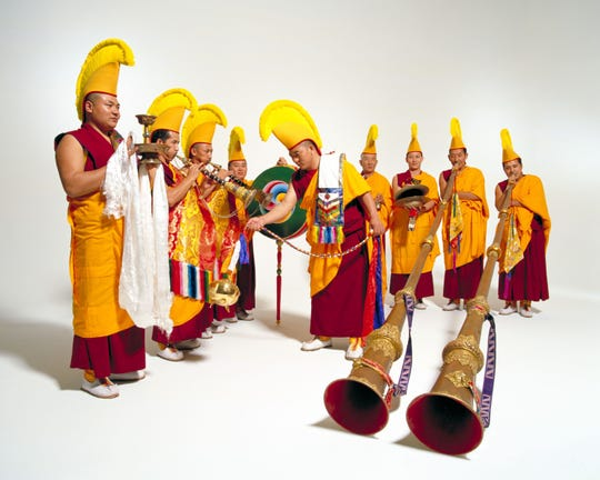 The monks of Drepung Loseling Monastery will perform an Early Music Now concert  in April in Milwaukee.