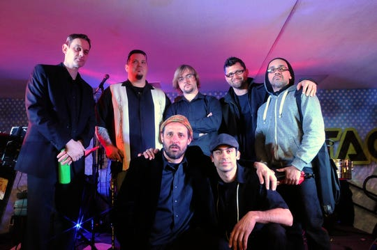 Local Latin jazz group De La Buena headlines a New Year's Eve concert at the Jazz Estate.