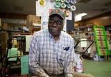 Lester Staples is one of two brothers who still work at the Staples Brothers Hardware store. The store has been in Sherman Park since 1968.