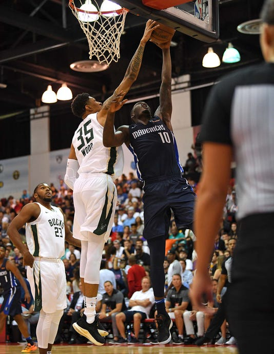 Nba Summer League Dallas Mavericks At Milwaukee Bucks