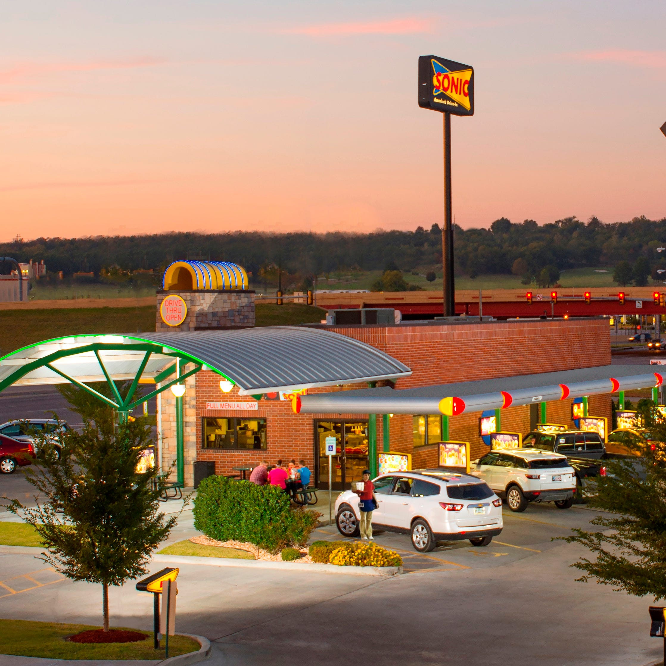 SONIC Drive-In has added the ability to order ahead to it mobile apps for stores in Monroe.