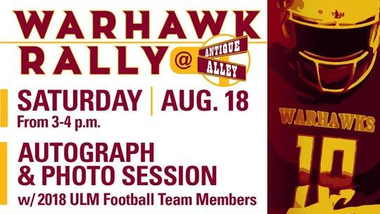 Warhawk Rally is Saturday at the ULM campus.