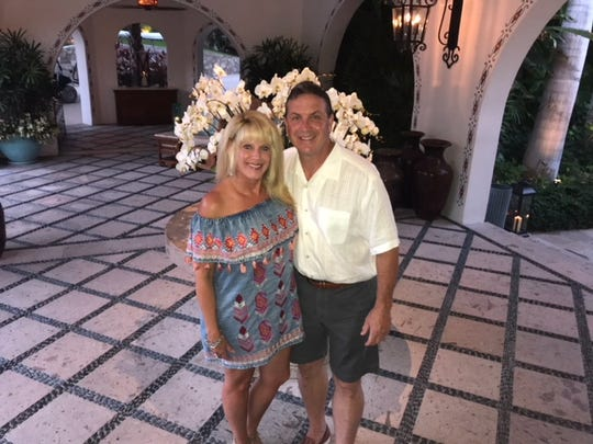 Vince and Lana Forte enjoy a beautiful sunny day in Cabo San Lucas.