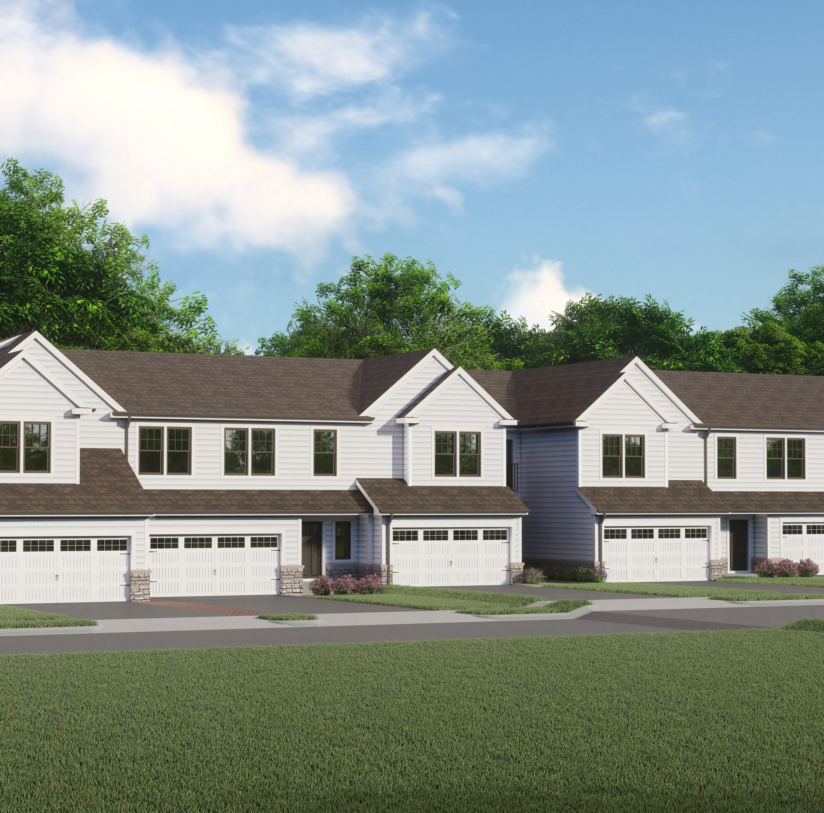 First townhome building released at High Point at Panther Valley