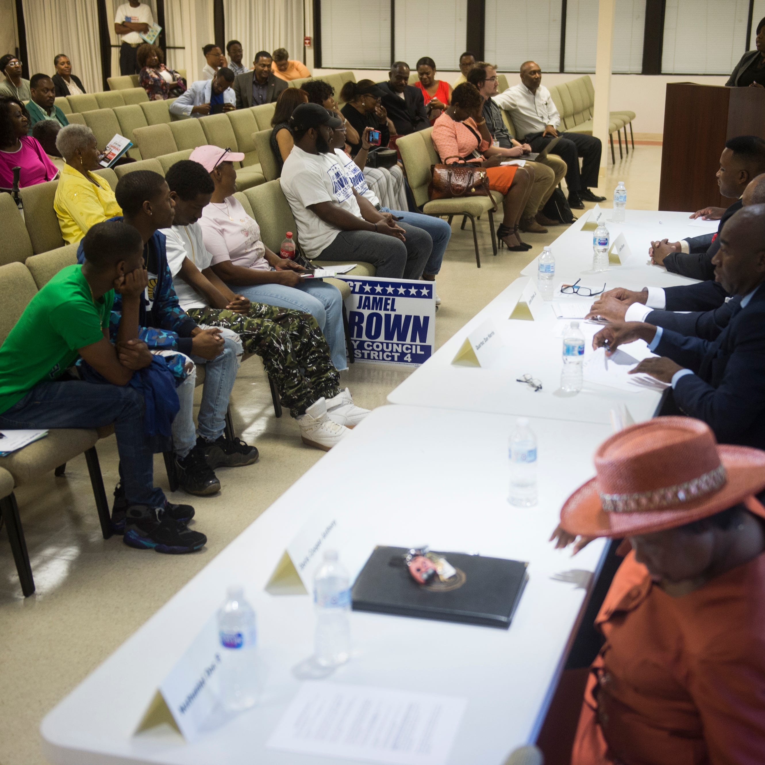 District 4 candidates face off over economics, revitalization and perception in Tuesday forum