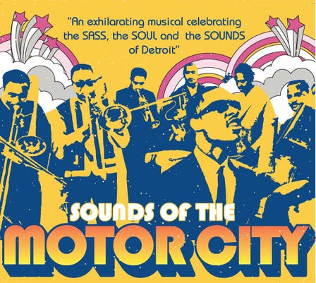 Flyer Sounds Of The Motor City
