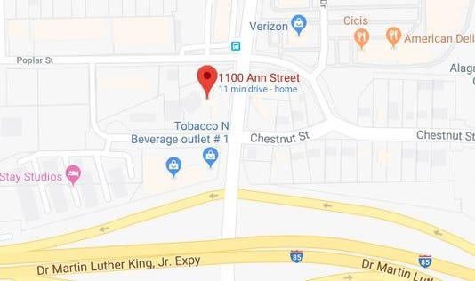 Ann Street Robbery Theft