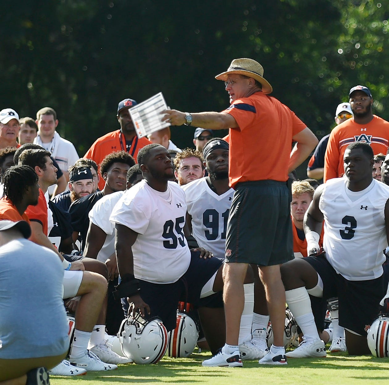 Second preseason scrimmage gets Auburn 'a little closer' to setting depth chart