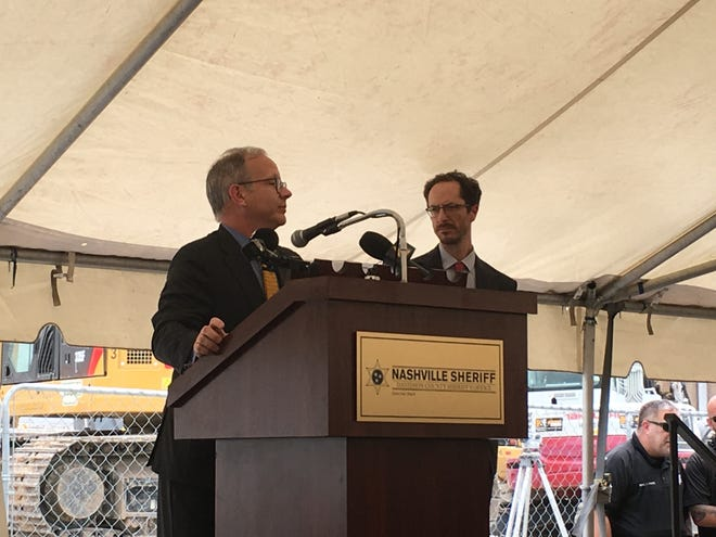 Mayor David Briley gave his support for the new Behavioral Care Center on Wednesday afternoon.
